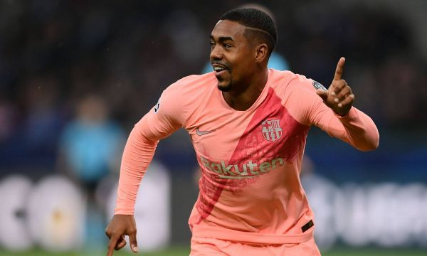 Com gol de Malcom, Barcelona se classifica na Champions League